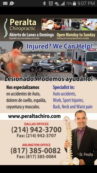 Quiropráctico Dr Peralta